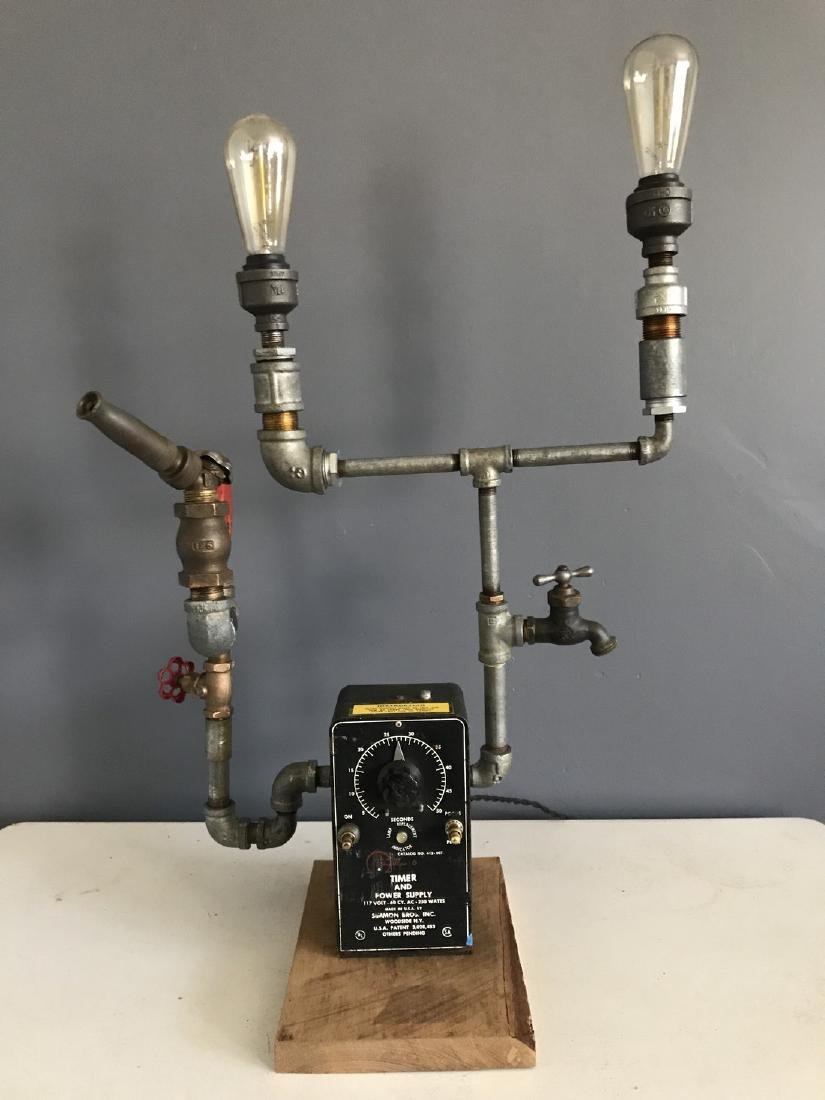 Steam Punk Table Lamp
