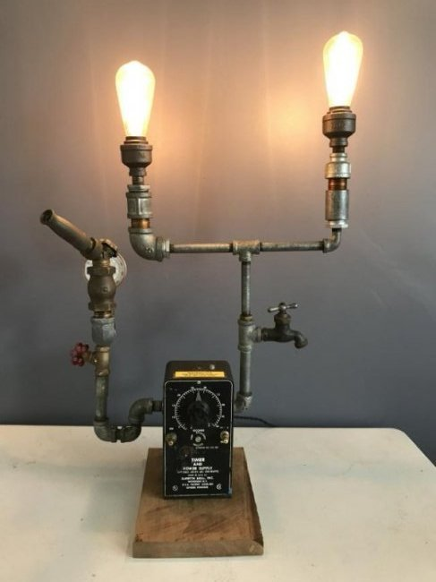 Steam Punk Table Lamp - 3