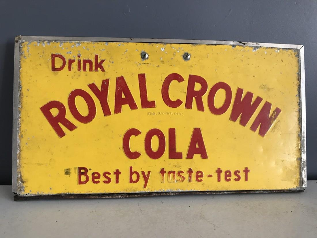 RC Cola Cooler Sign