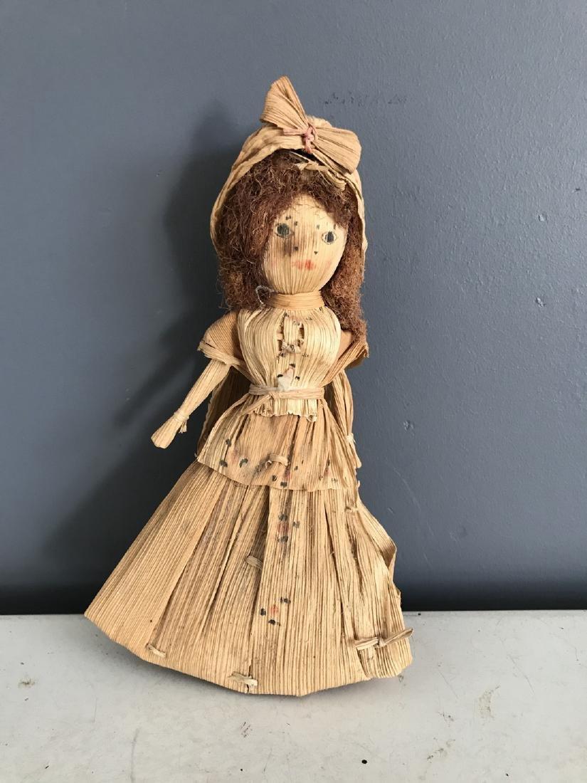Primitive Corn Husk Doll