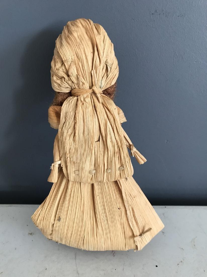 Primitive Corn Husk Doll - 2