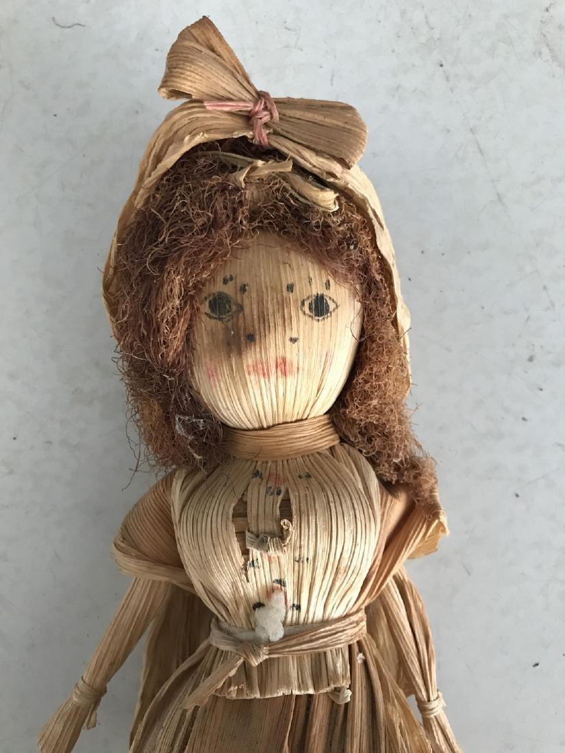 Primitive Corn Husk Doll - 3