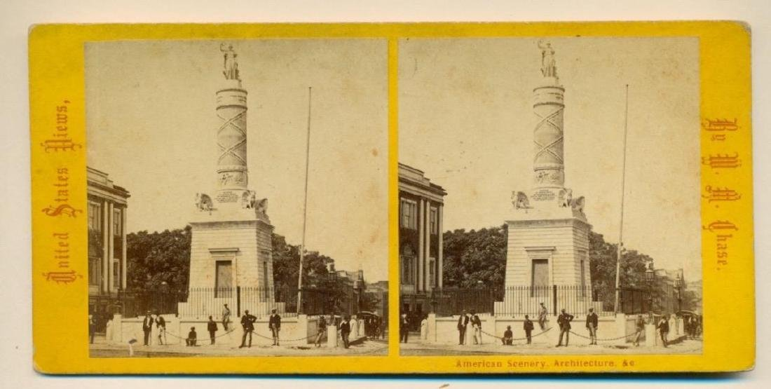 1880 Battle Monument Monument Square Baltimore Maryland - 2