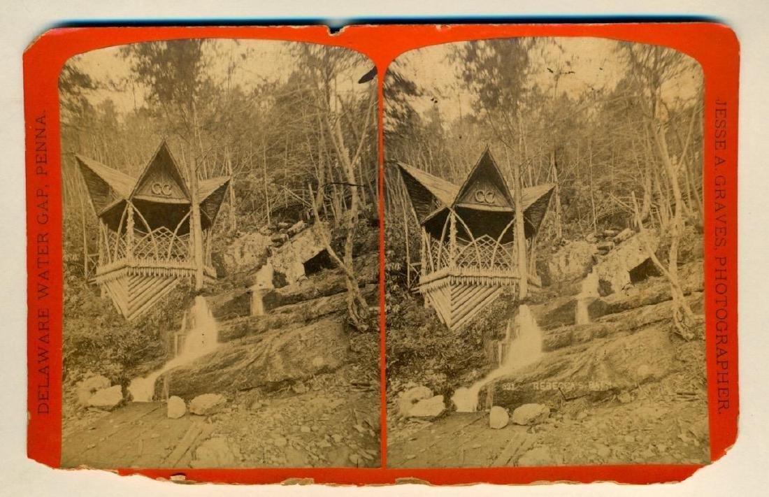 1880 Rebecca Bath Delaware Water Gap Pennsylvania - 2