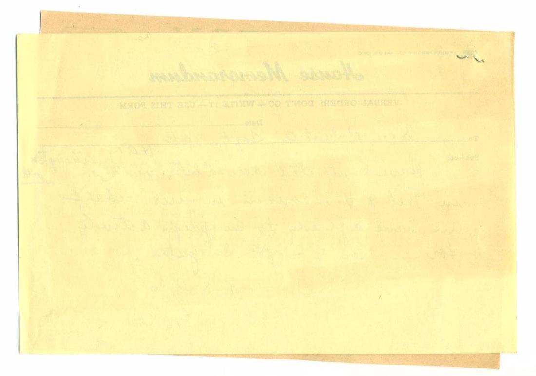 Vintage Election Telegram Robert Taft Campaign Support - 3