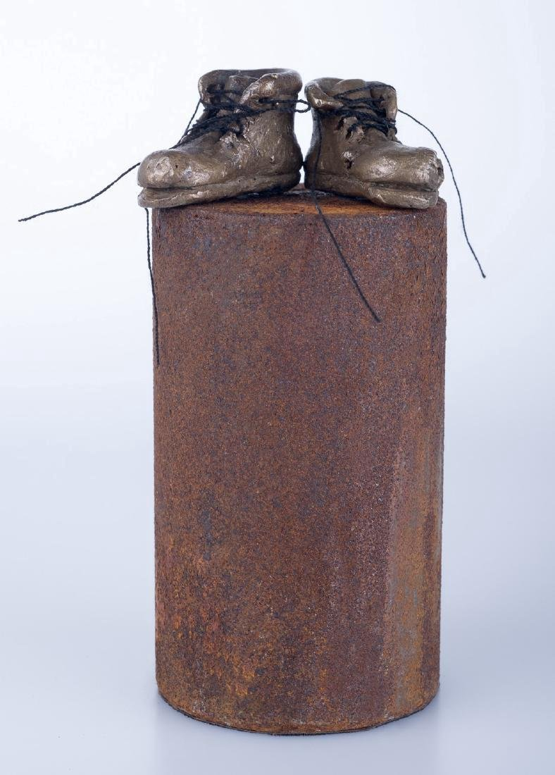 Pancho Porto Sculpture: A Pair of Boots