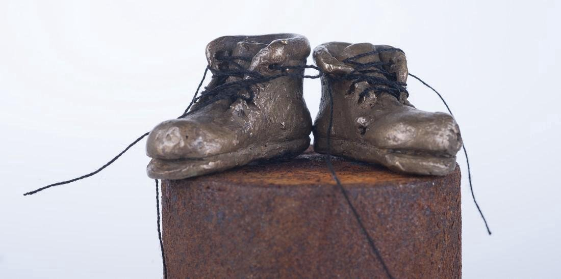 Pancho Porto Sculpture: A Pair of Boots - 3