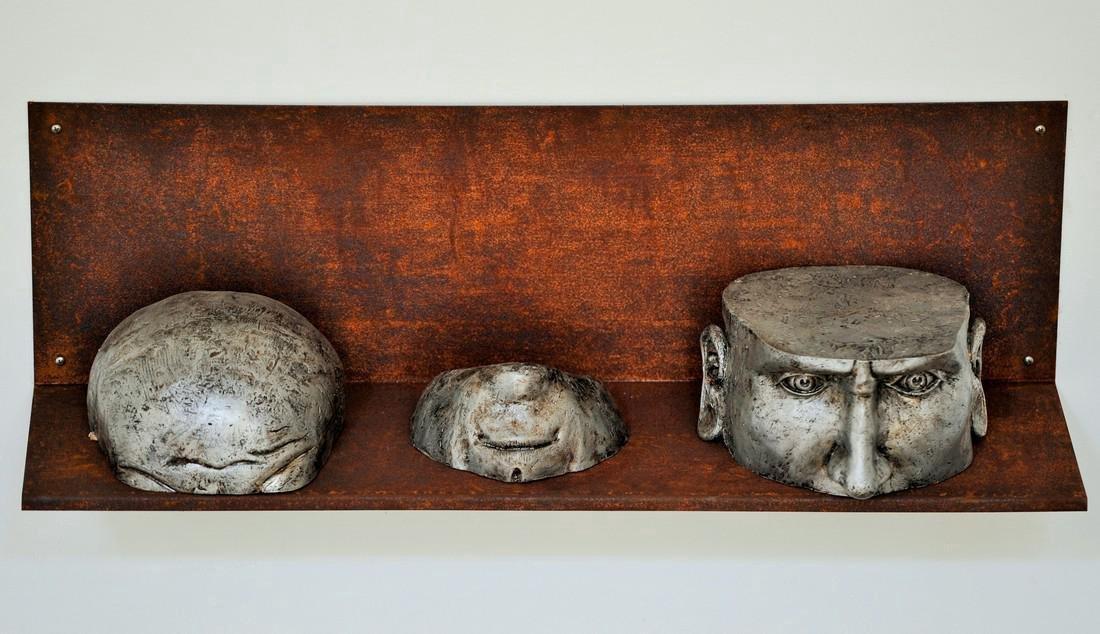 Pancho Porto Sculpture: Confused, Broken in Three