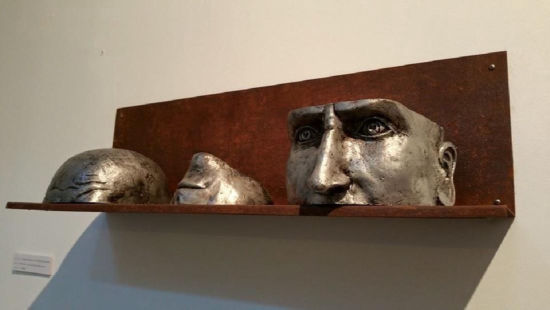Pancho Porto Sculpture: Confused, Broken in Three - 2