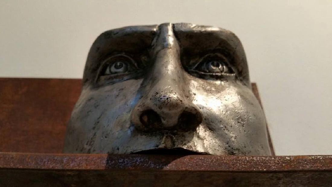 Pancho Porto Sculpture: Confused, Broken in Three - 3