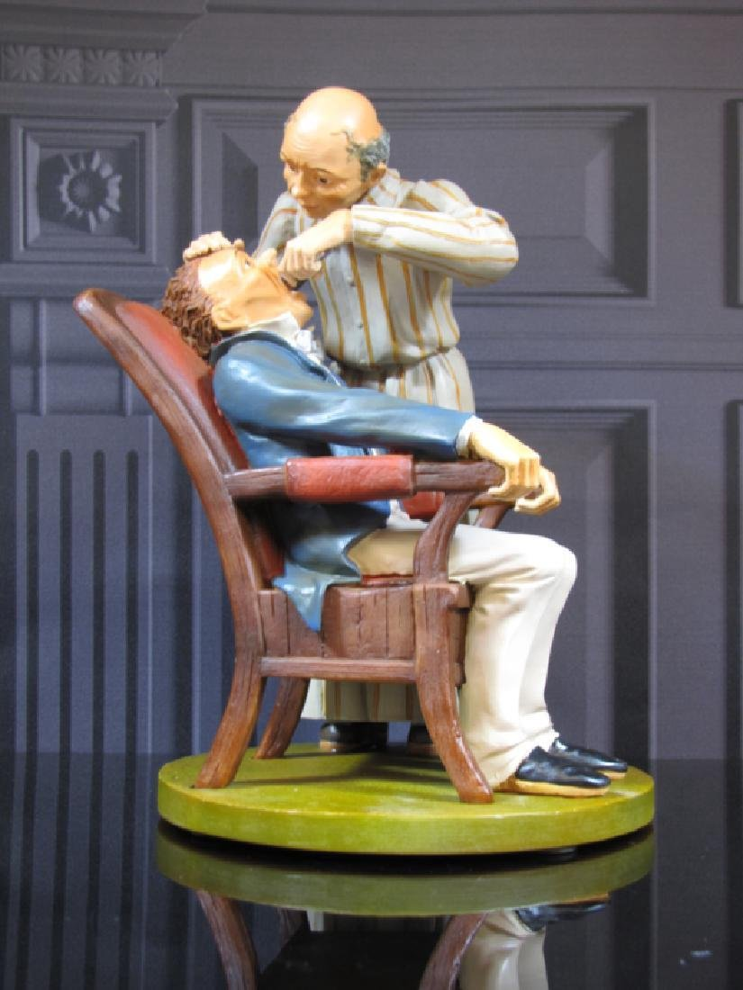 After Honore Daumier: Dentist Statue