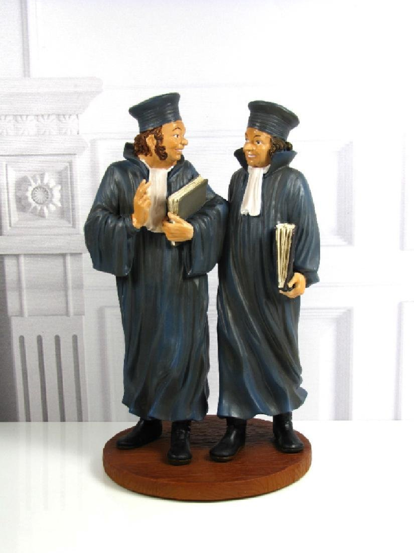 After Honore Daumier: Lawyers Statue