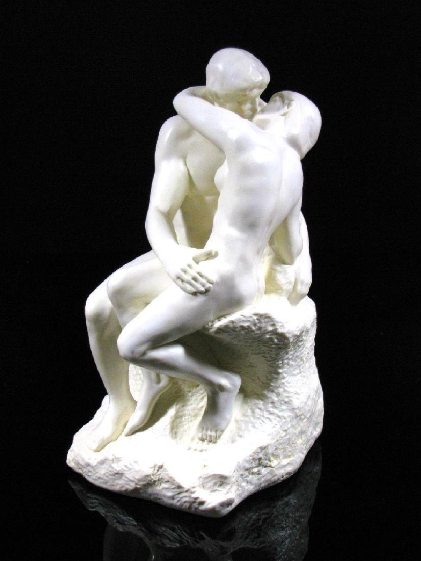 After Auguste Rodin: The Kiss - Mouseion Statue