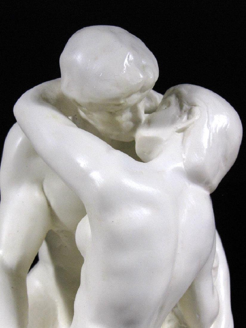 After Auguste Rodin: The Kiss - Mouseion Statue - 2
