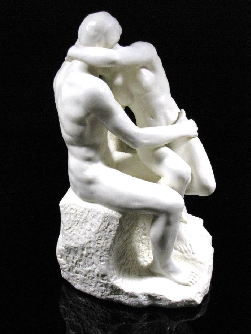After Auguste Rodin: The Kiss - Mouseion Statue - 5