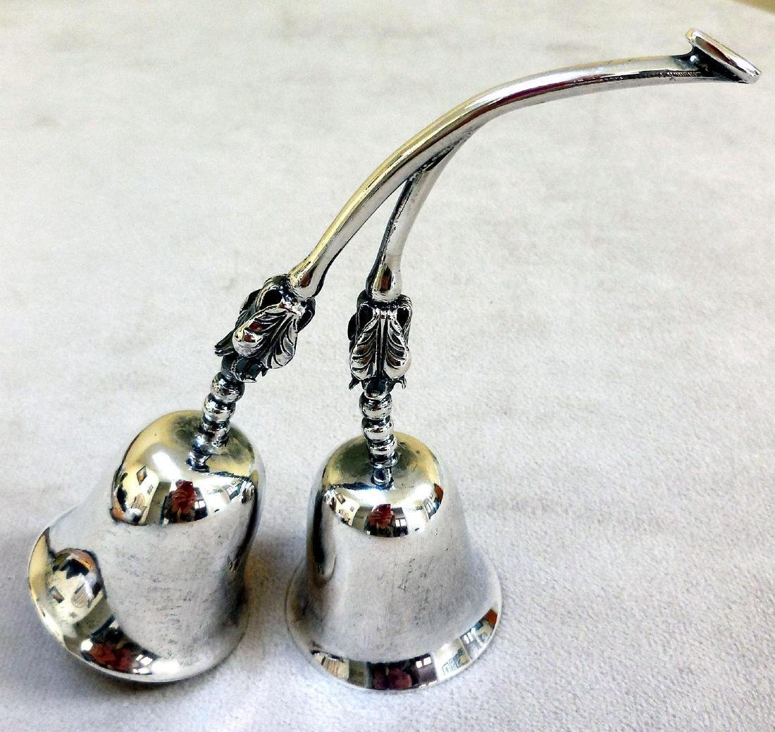 Vintage Mexican Sterling Silver Service Bells