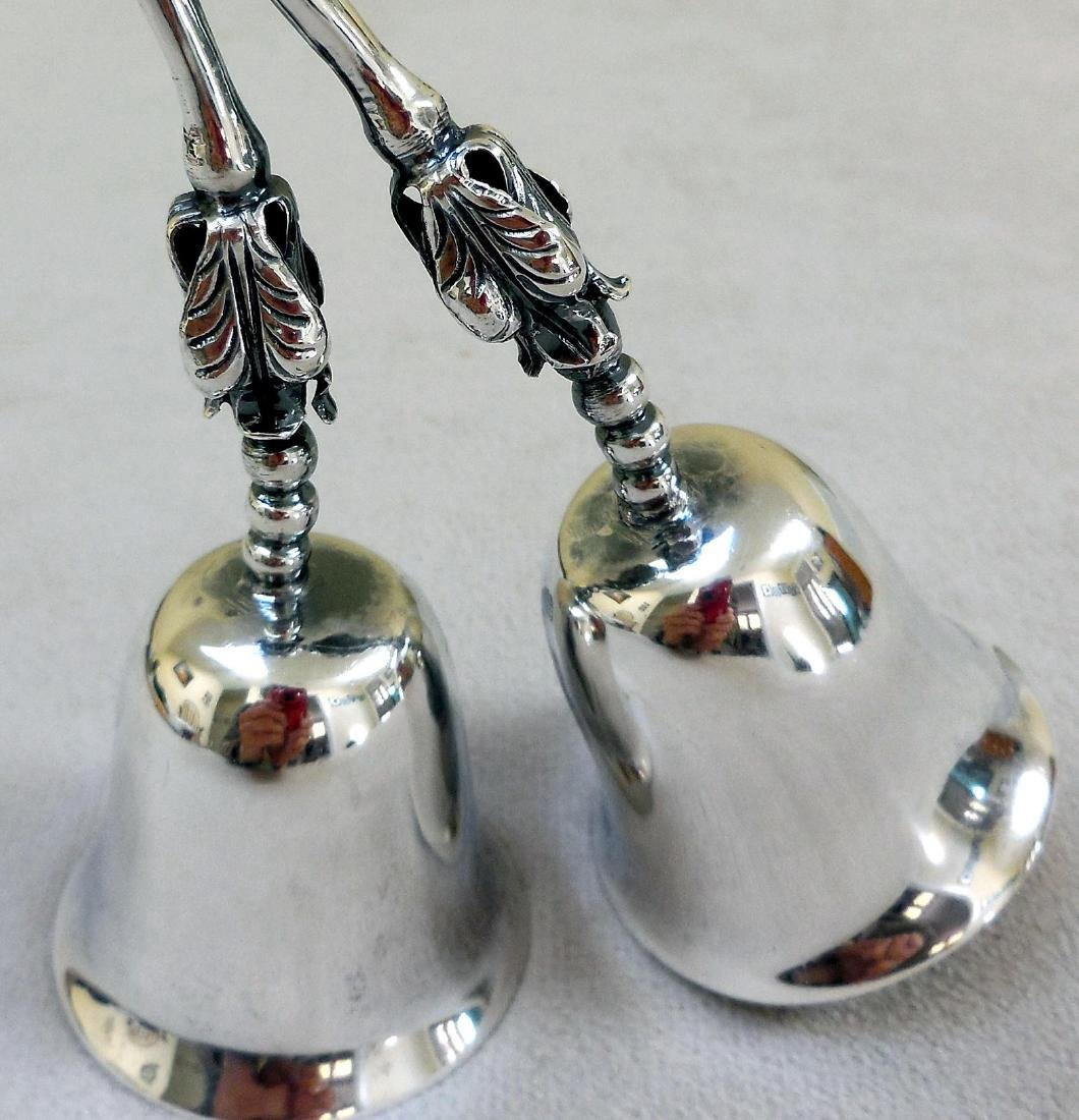 Vintage Mexican Sterling Silver Service Bells - 5