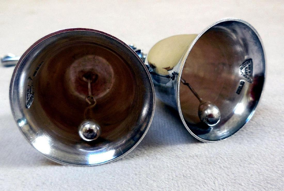 Vintage Mexican Sterling Silver Service Bells - 6