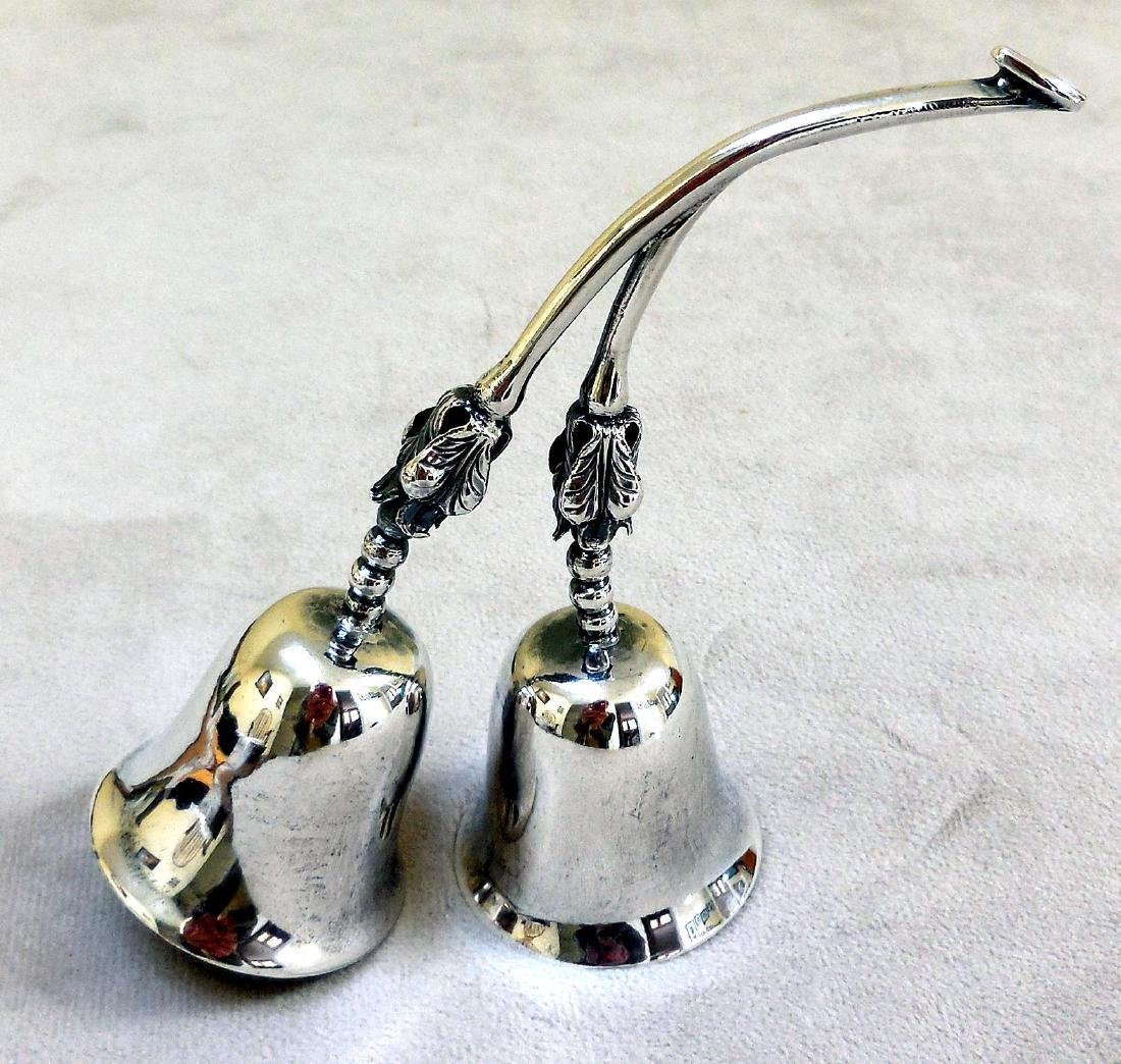 Vintage Mexican Sterling Silver Service Bells - 8
