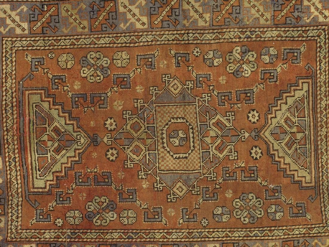 Turkish Kazak Rug 4.1x5.9 - 2