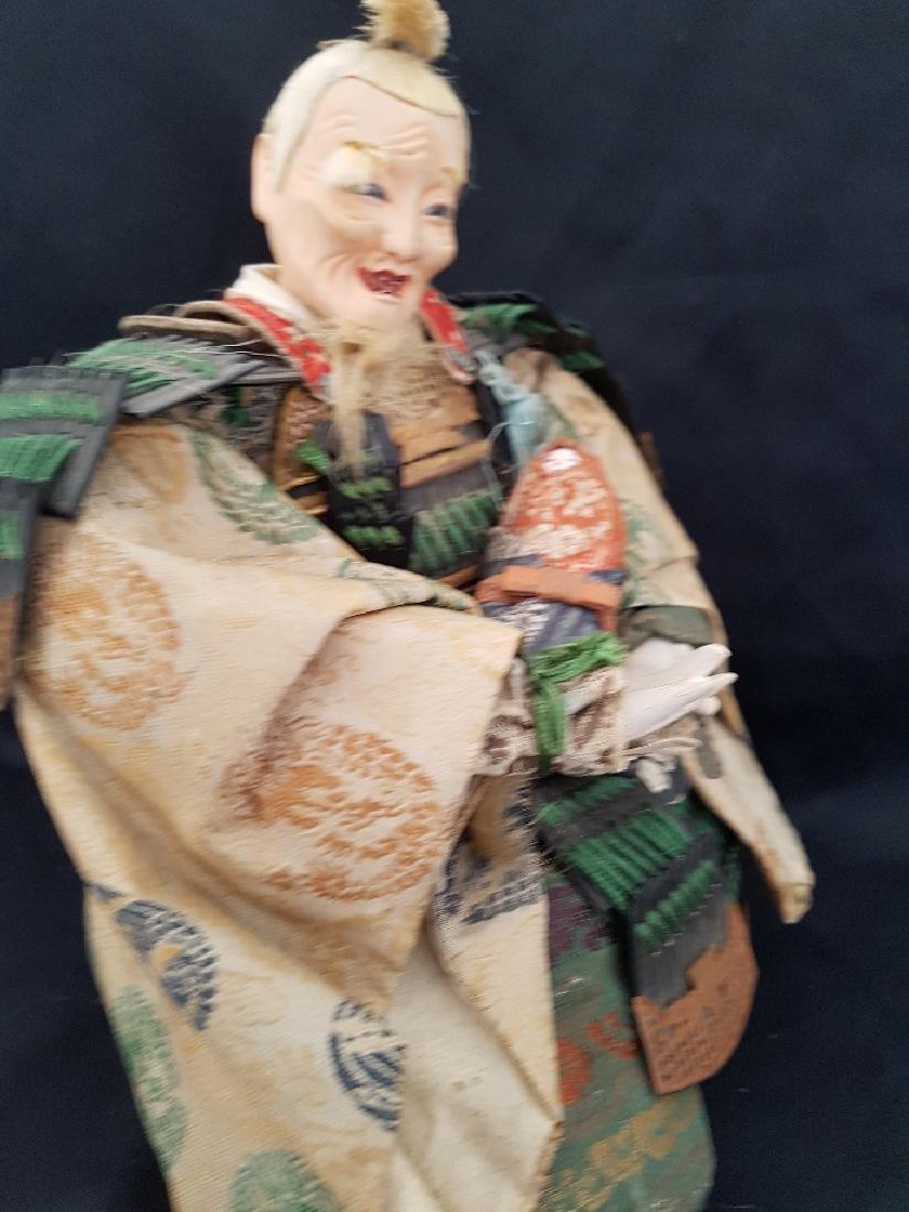 Antique Japanese Musha Ningyo Doll, c1890-1900 - 6