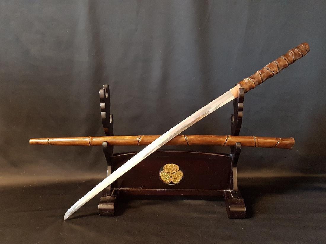 Antique Japanese Kiyoshi Osafune Nihonto Katana, 1690 - 2