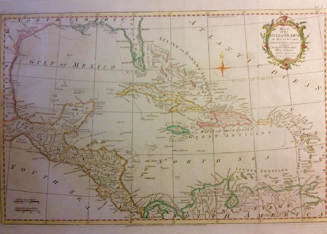 Kitchin: Antique Map of West Indies, 1780