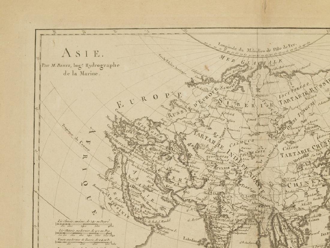Bonne: Antique Map of Asia, 1787 - 2