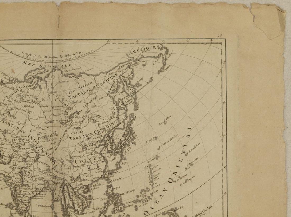 Bonne: Antique Map of Asia, 1787 - 3