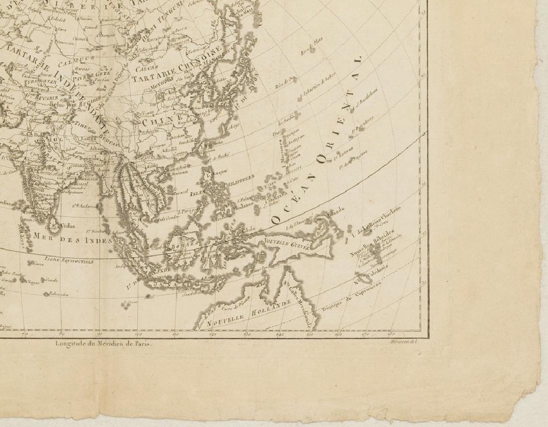 Bonne: Antique Map of Asia, 1787 - 4