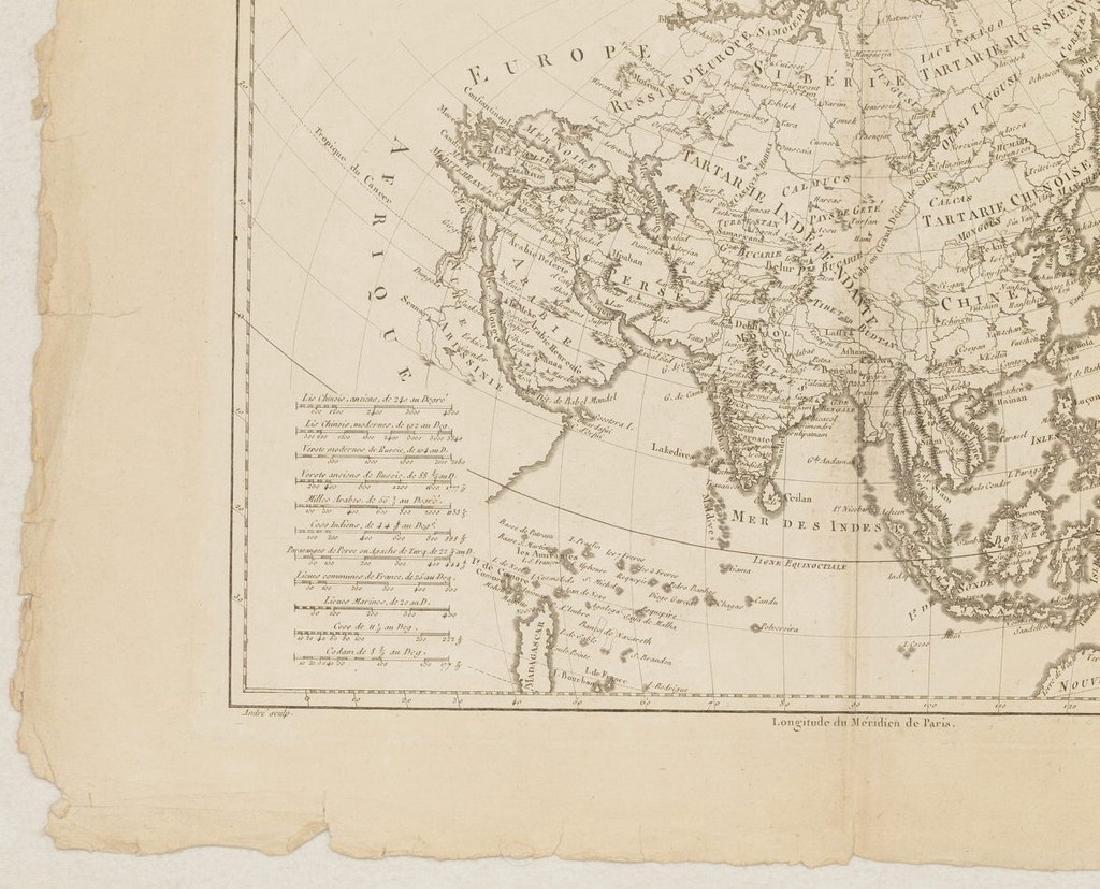 Bonne: Antique Map of Asia, 1787 - 5