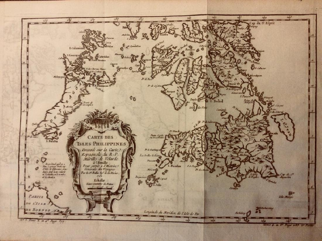Bellin: Antique Map of Southern Philippines, 1740