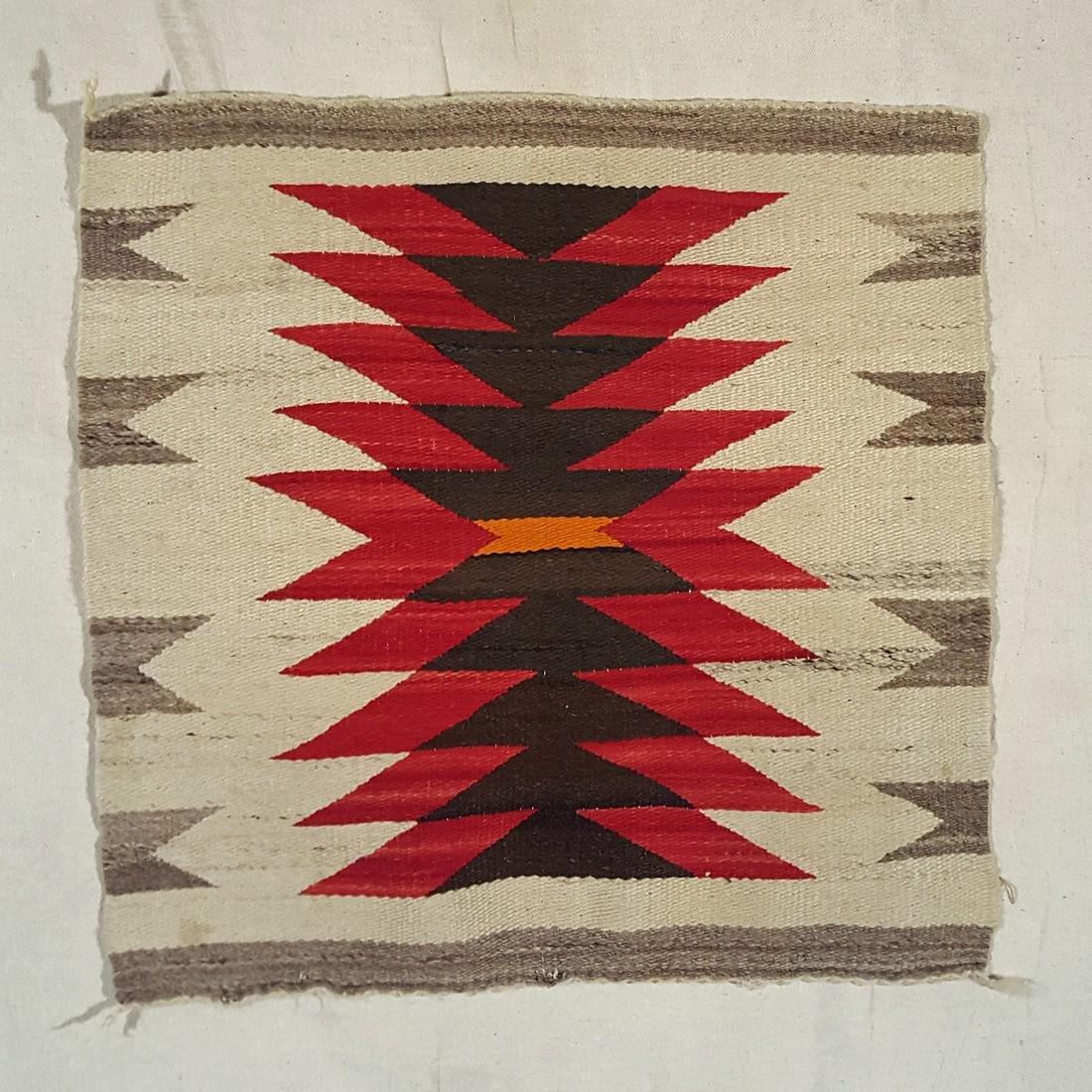 Navajo Ganado Throw Circa 1940's - 2
