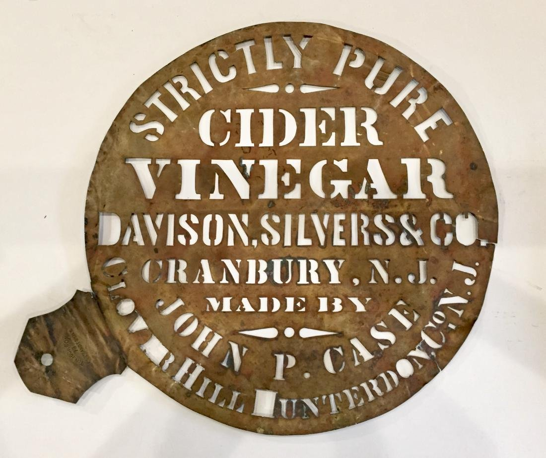 Cider Vinegar Stencil