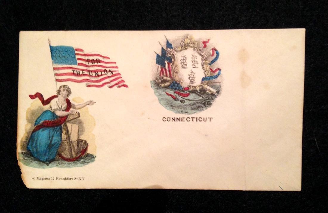 Military Civil War Envelope