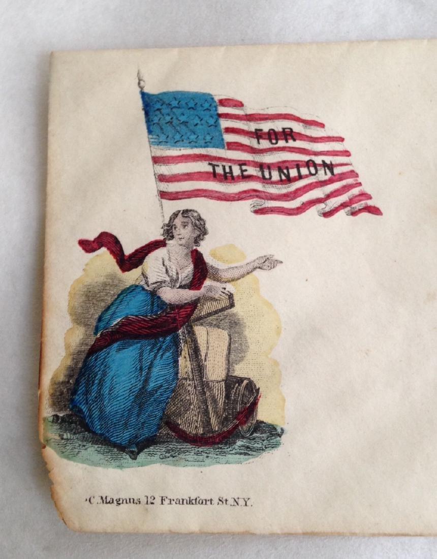 Military Civil War Envelope - 4