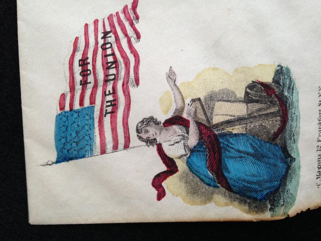 Military Civil War Envelope - 5
