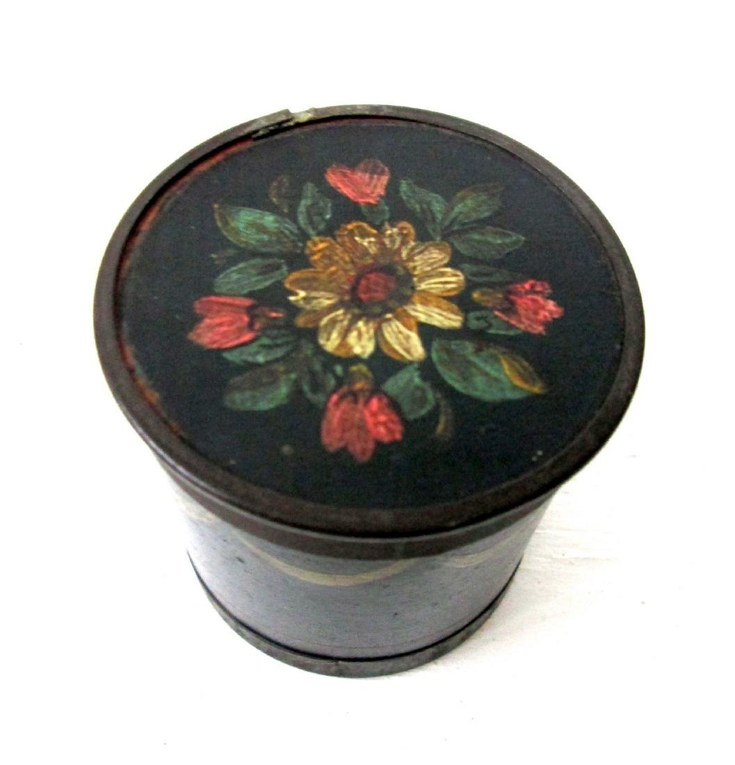 Early Decorated Spice Box - 2