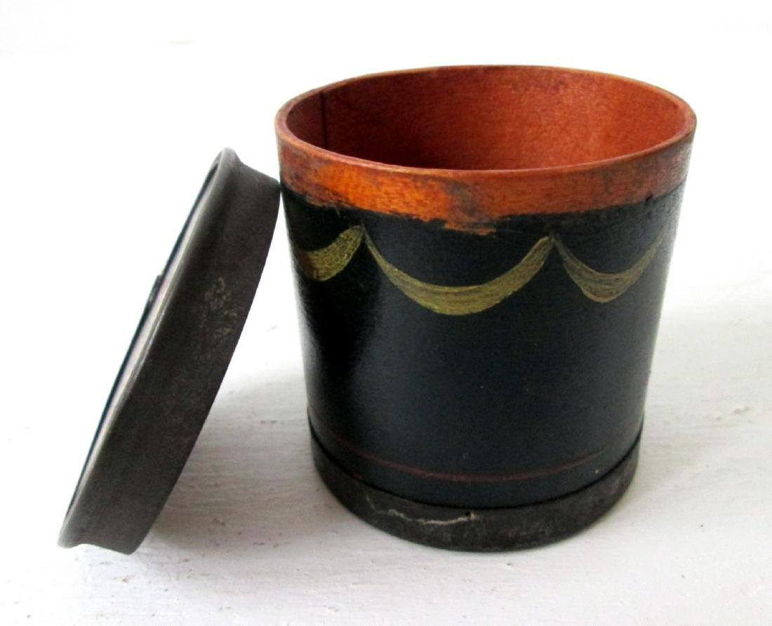 Early Decorated Spice Box - 4