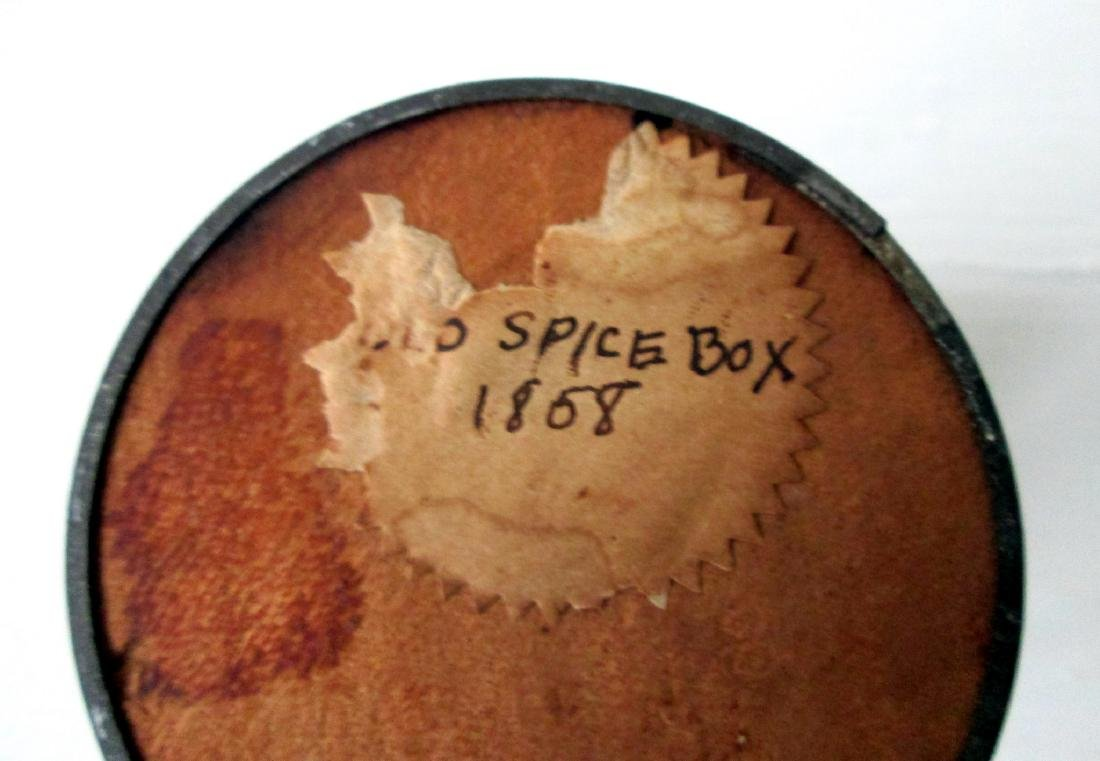 Early Decorated Spice Box - 7