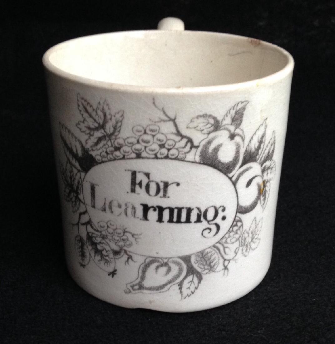 19thc Creamware Child's Cup