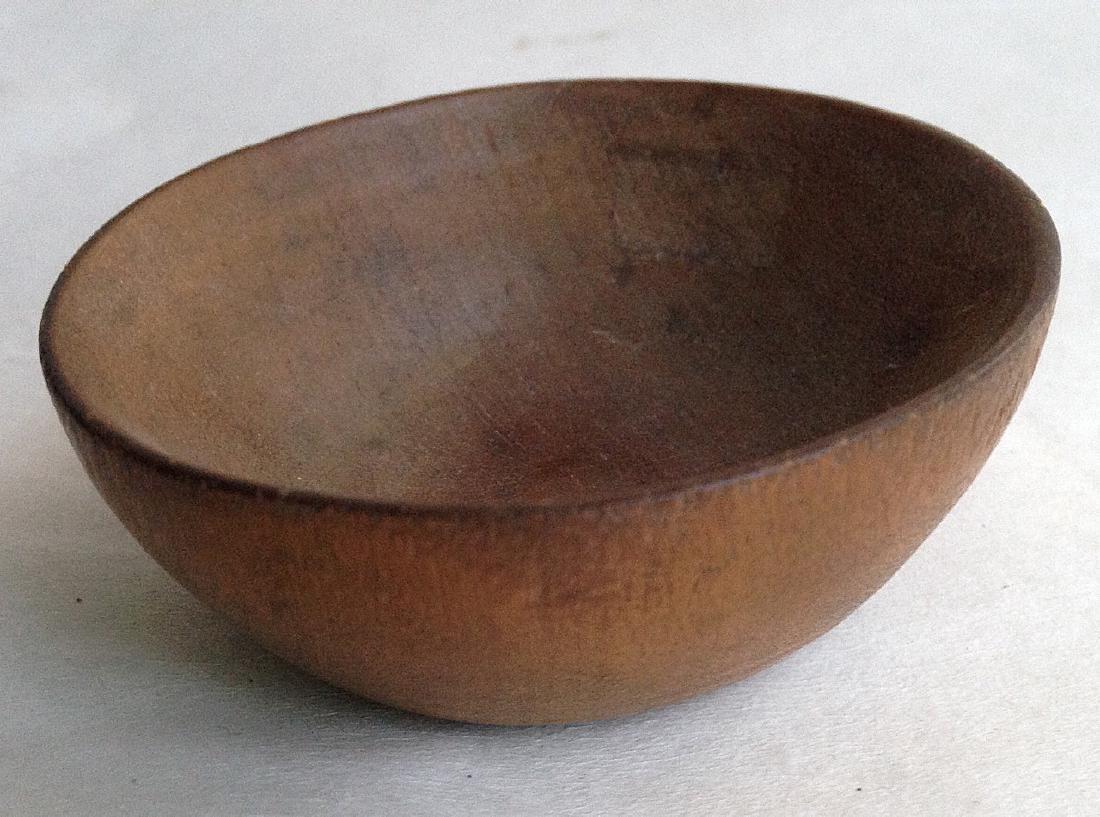 Early 19thc Treen Salt Bowl - 3