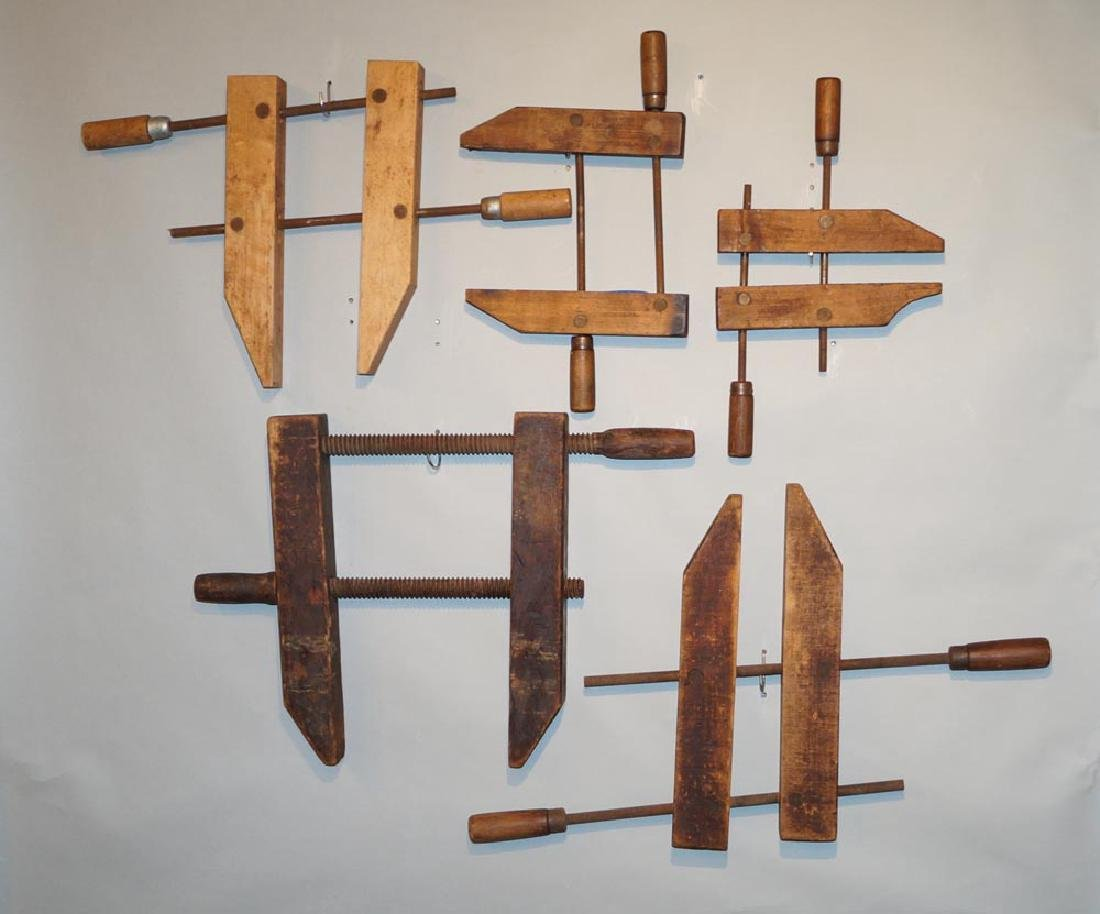 Wood Carpenter Hardware Vise Clamps - 2