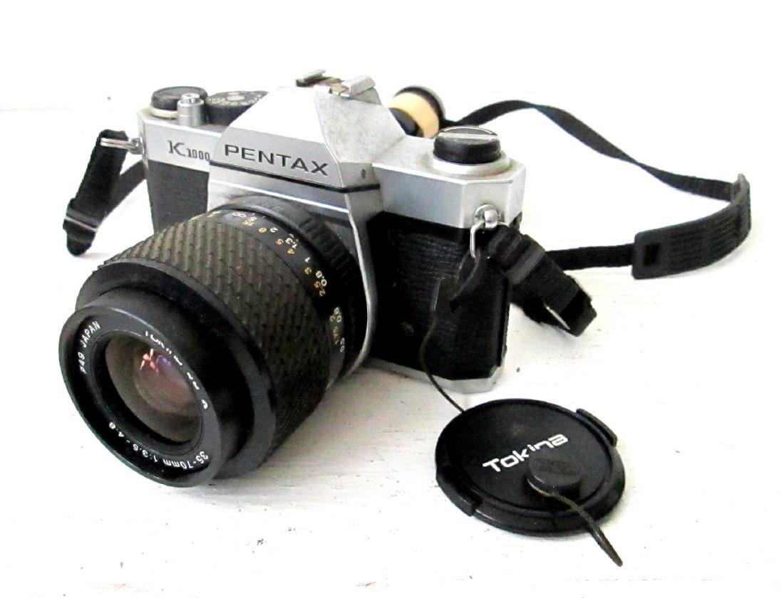 Vintage Pentax K1000 SLR 35mm Camera