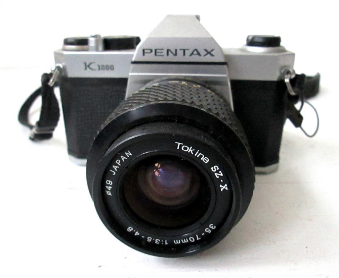 Vintage Pentax K1000 SLR 35mm Camera - 2