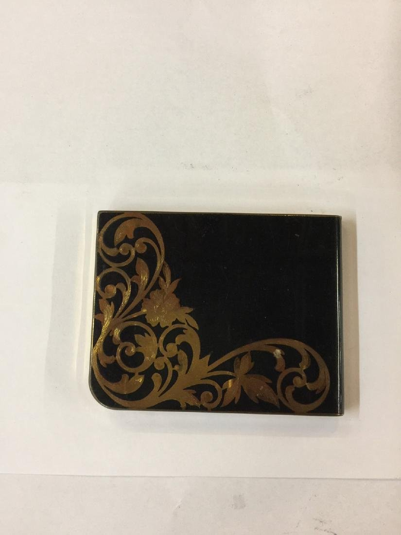 Elgin American Gold Plate Cigarette Case est 1950s