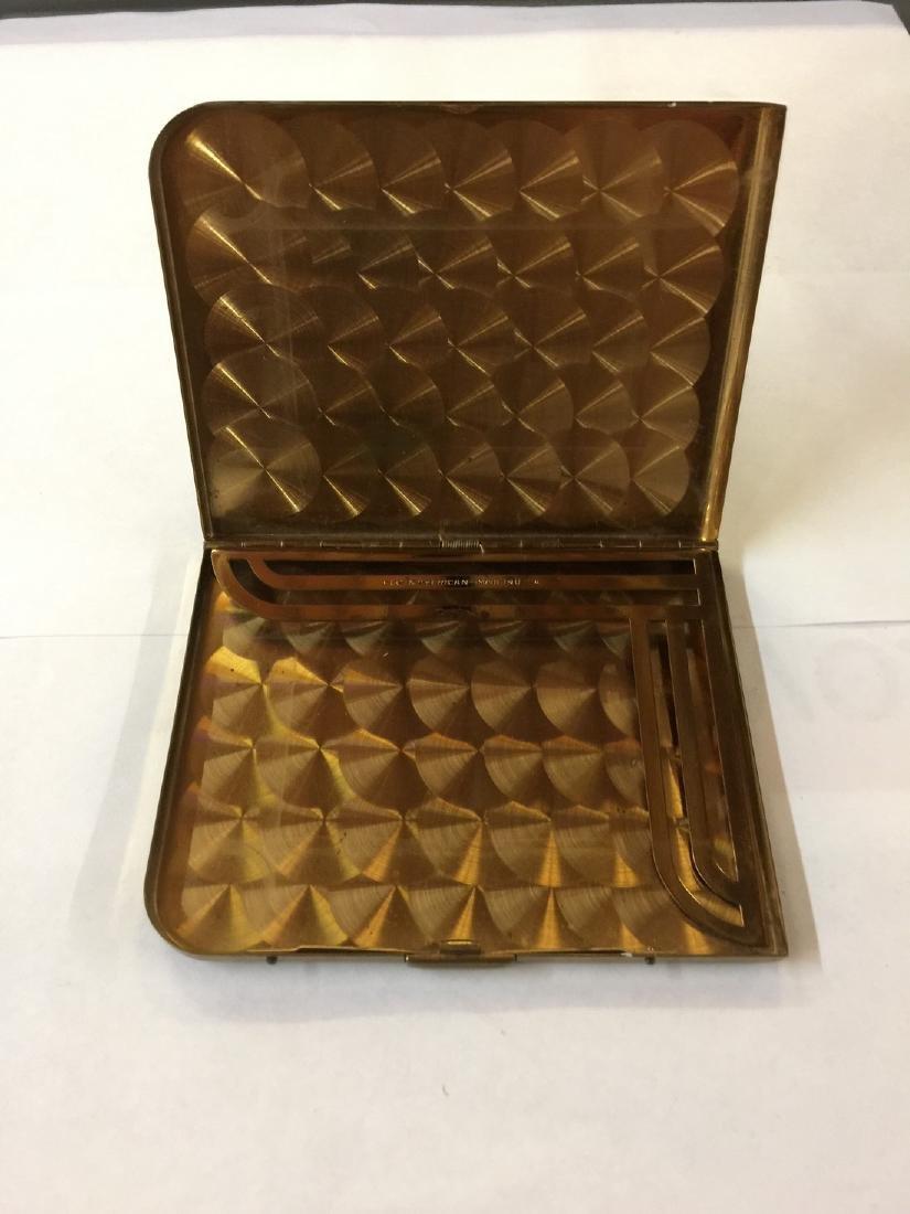Elgin American Gold Plate Cigarette Case est 1950s - 2