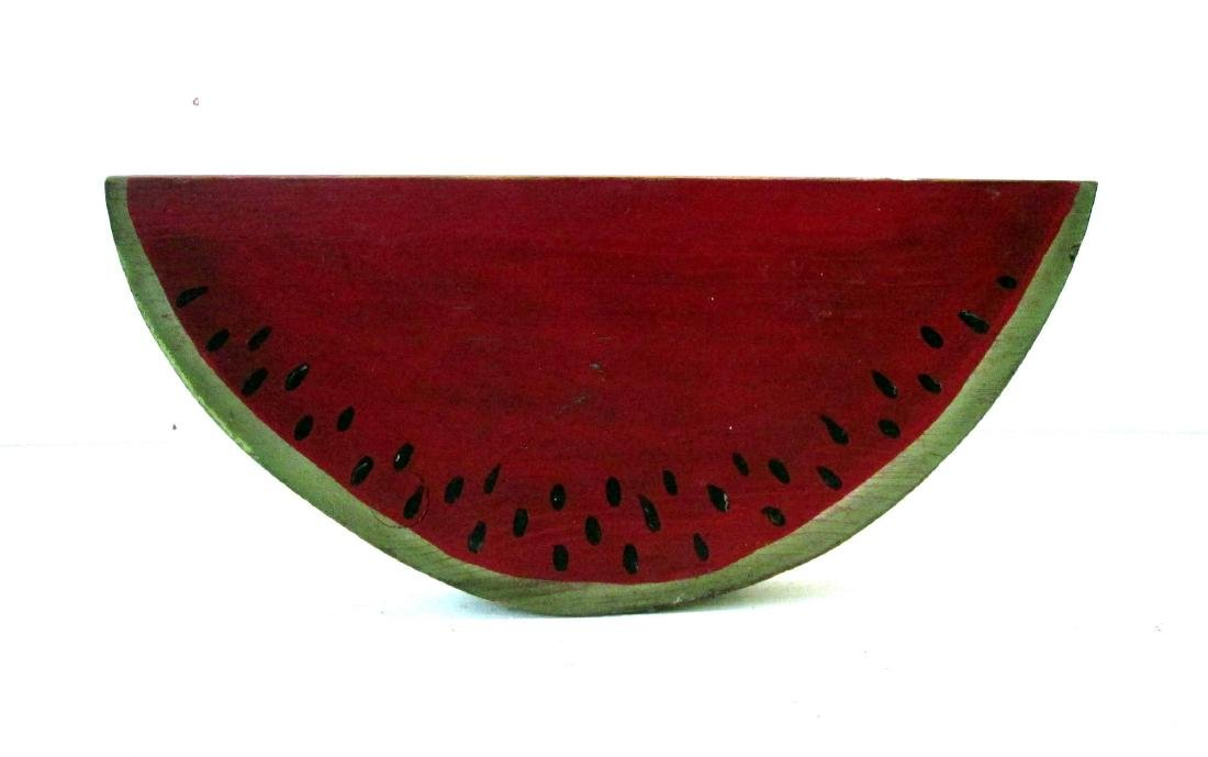 Vintage Carved Watermelon Slice - 2