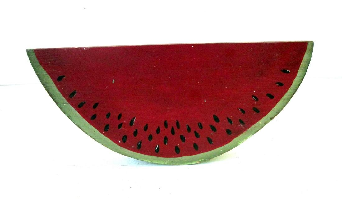 Vintage Carved Watermelon Slice - 5