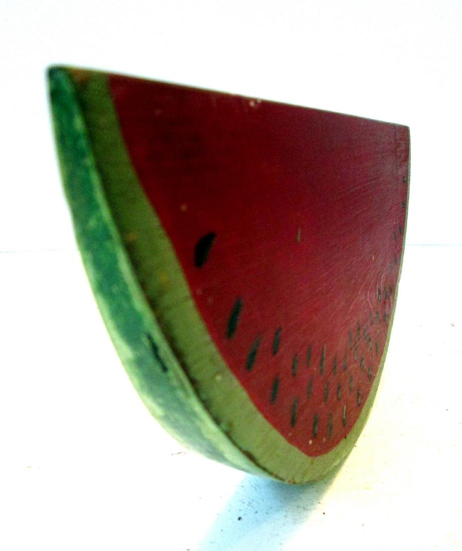 Vintage Carved Watermelon Slice - 6
